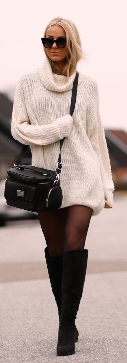 The Oversized Sweater, An Autumn Style Staple | White sweaters ...