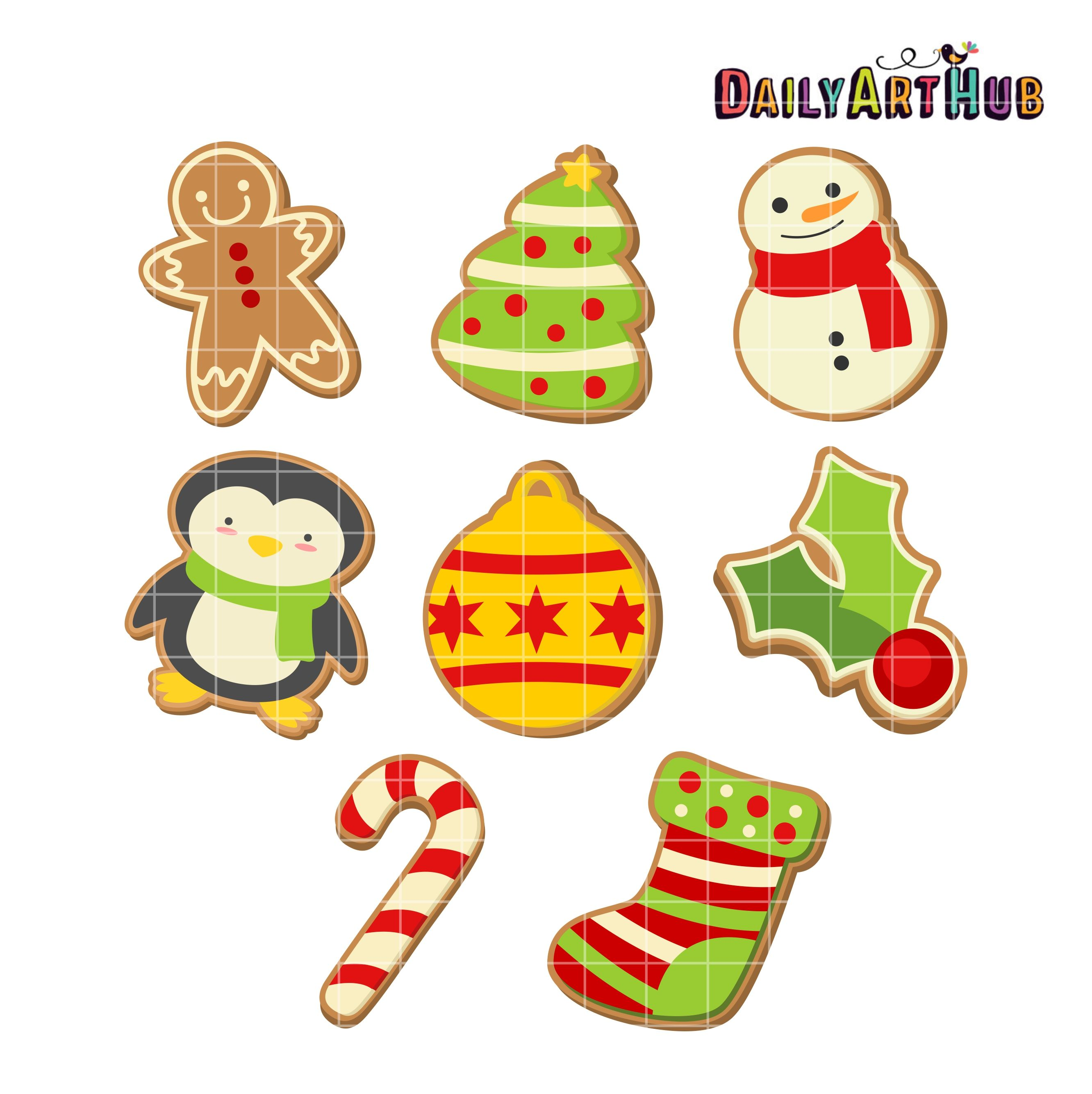 34+ Christmas cookies clipart free information