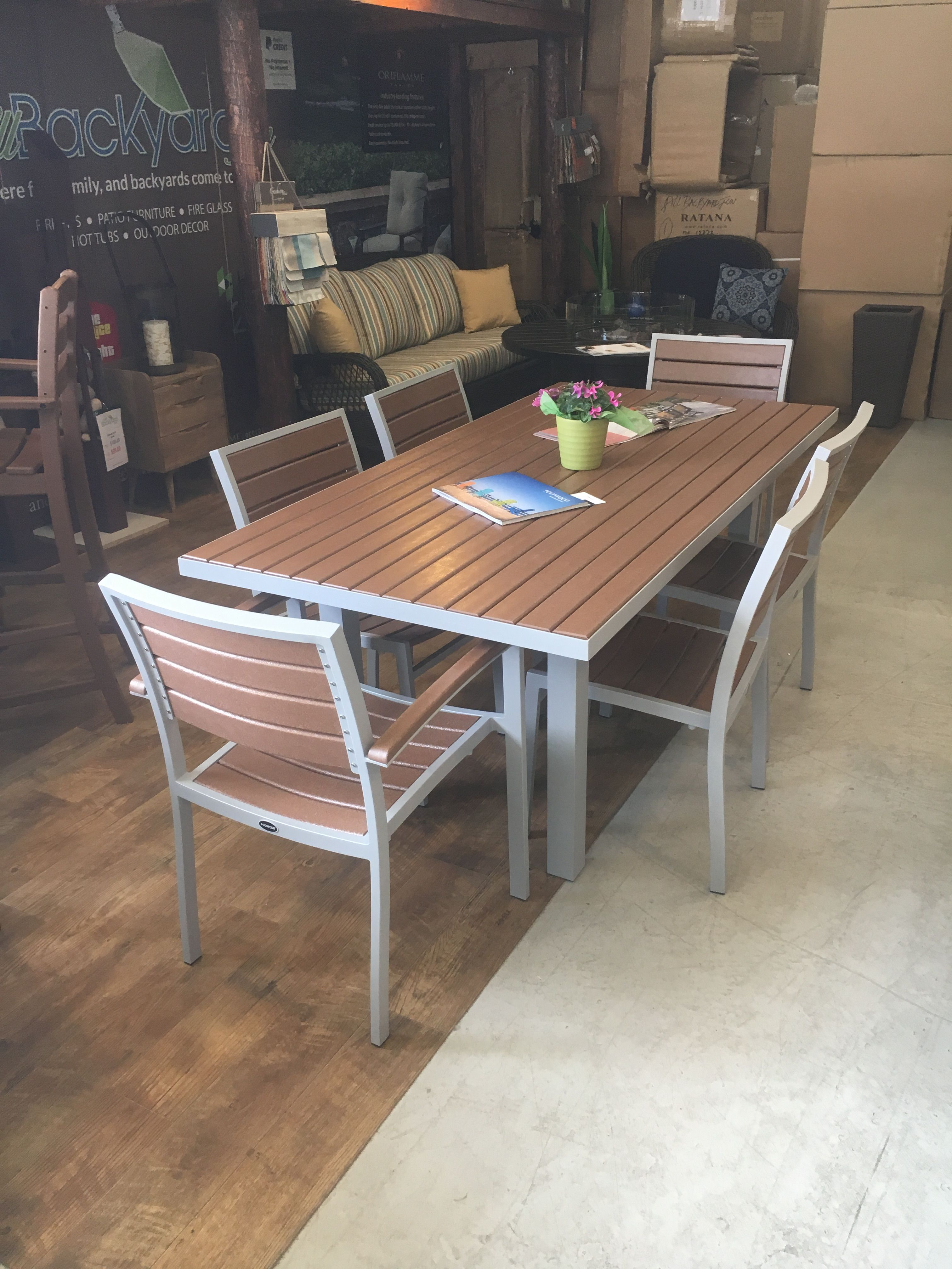 Euro Outdoor Ding Table A Favorite In Our Boulder Co Showroom Online Or