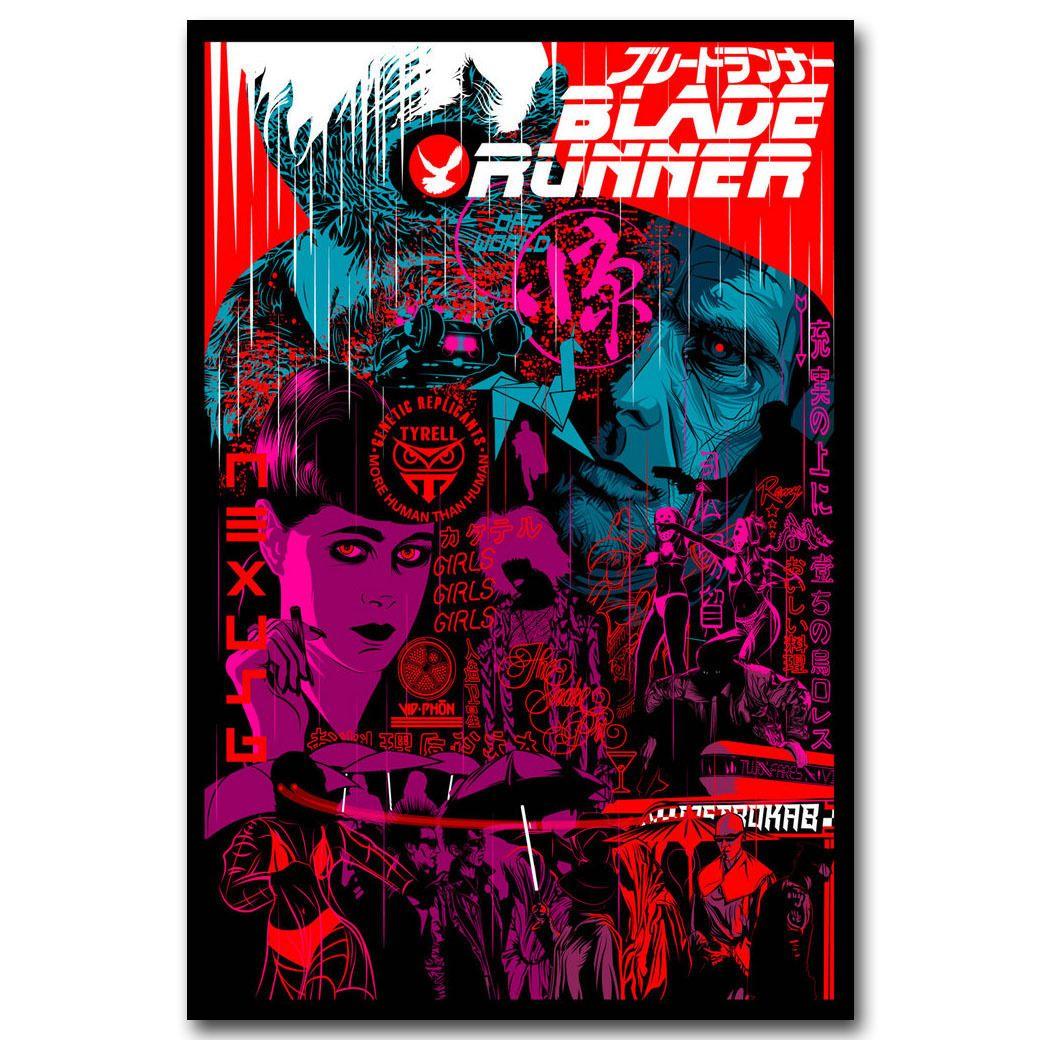 Spider Man Into the Spider Verse Movie Art Canvas Poster 12x18 24x36 inch