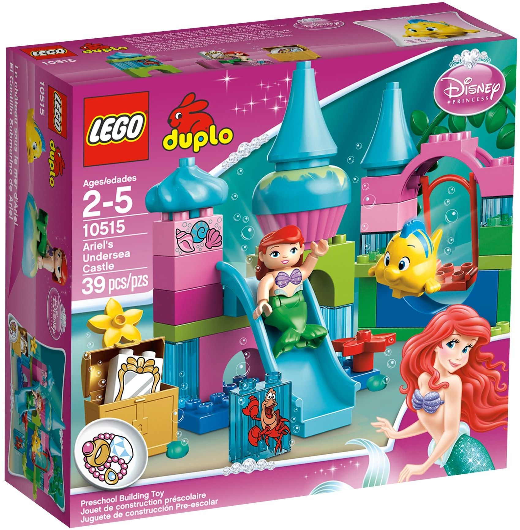105151 Ariel's Undersea Castle Lego duplo