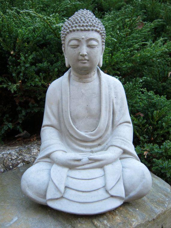 Buddha Statue Meditating Buddha Buddhist Concrete
