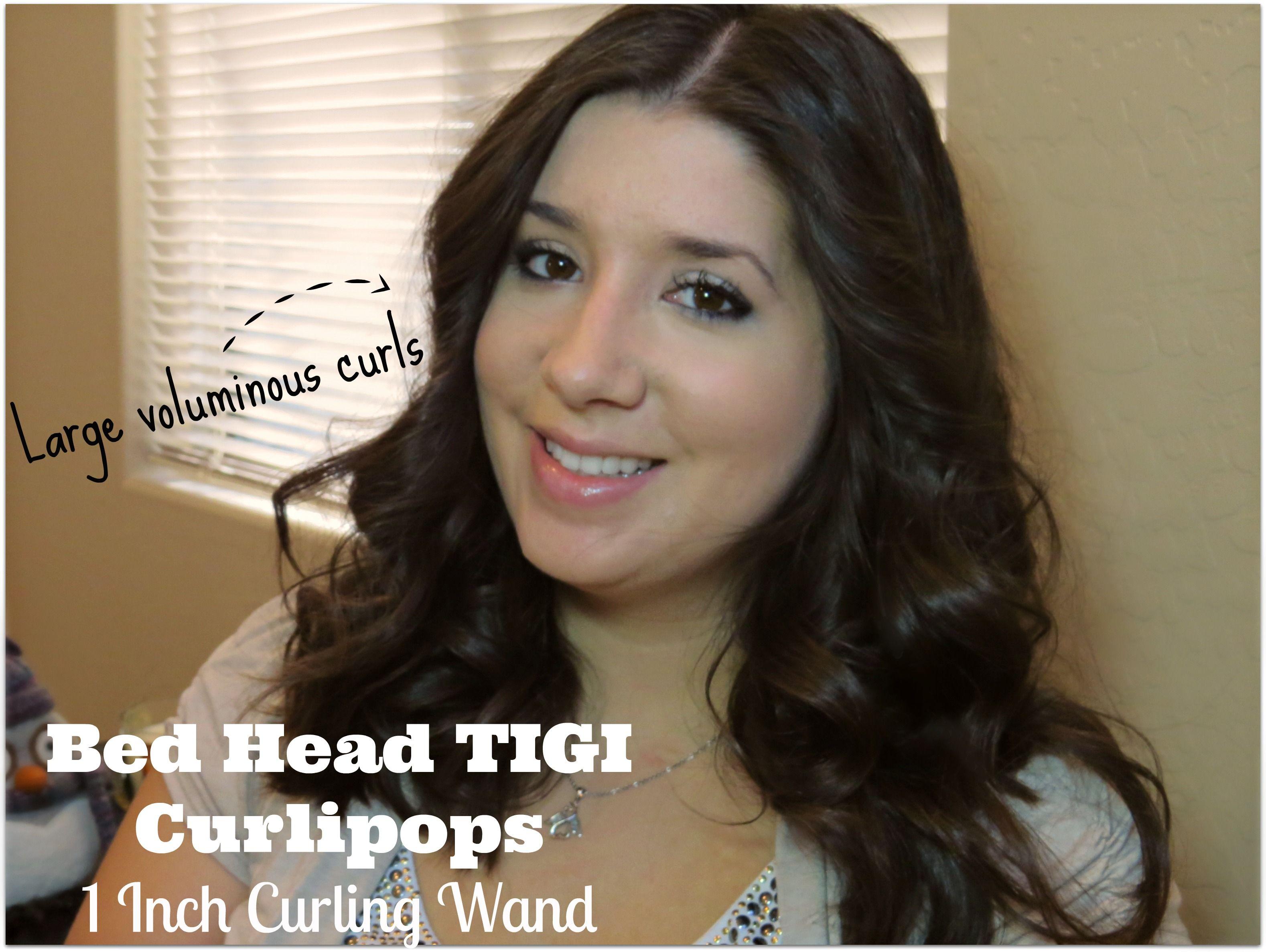 Bed Head Tigi Curlipops 1 Inch Curling Wand Review