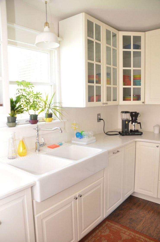 58 Baltimore White Kitchen Remodel 21 In 2020 White Ikea Kitchen White Kitchen Remodeling Ikea Bodbyn Kitchen