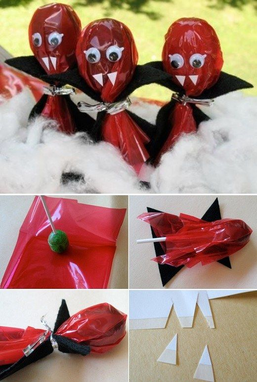 Halloween Lollypop Crafts The WHOot ideas Pinterest Craft - halloween decorations on pinterest