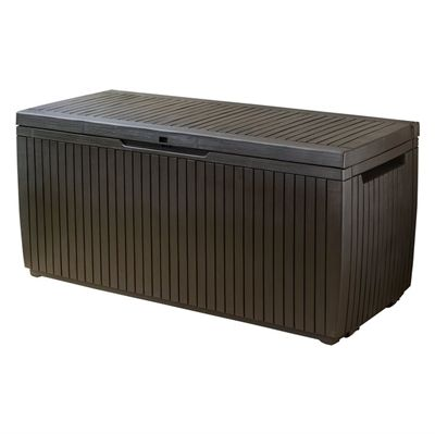 Keter Springwood 80 G Deck Box Outdoor Structures 640 x 480