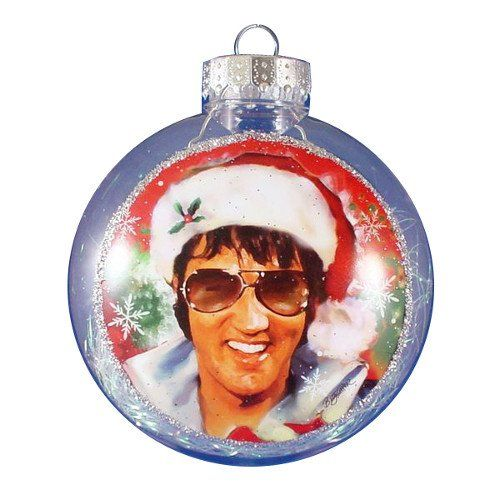 Elvis Presley Christmas Ornaments Fill your tree with Elvis ...