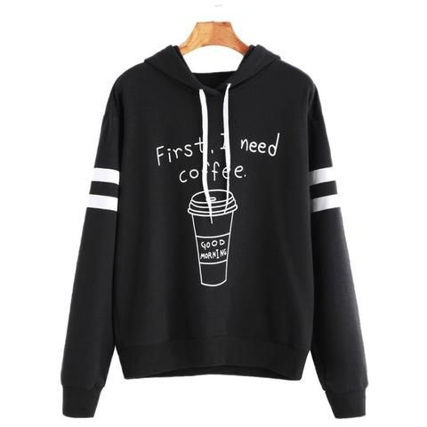 New Korean Bf Letters Women Long Sleeved Velvet Hooded Womens Hoodies Trendy Loose Female Sweatshirts Females Thickening Tops Pure White And Translucent Women's Clothing