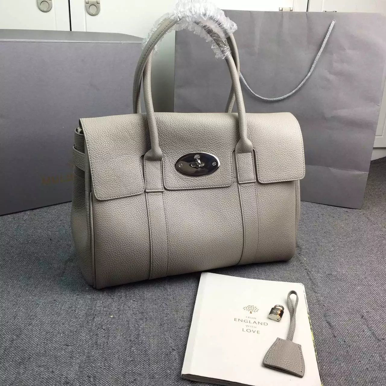 New Color 2017 Mulberry Handbags Collection Outlet Uk Bayswater Bag In Granny Classic