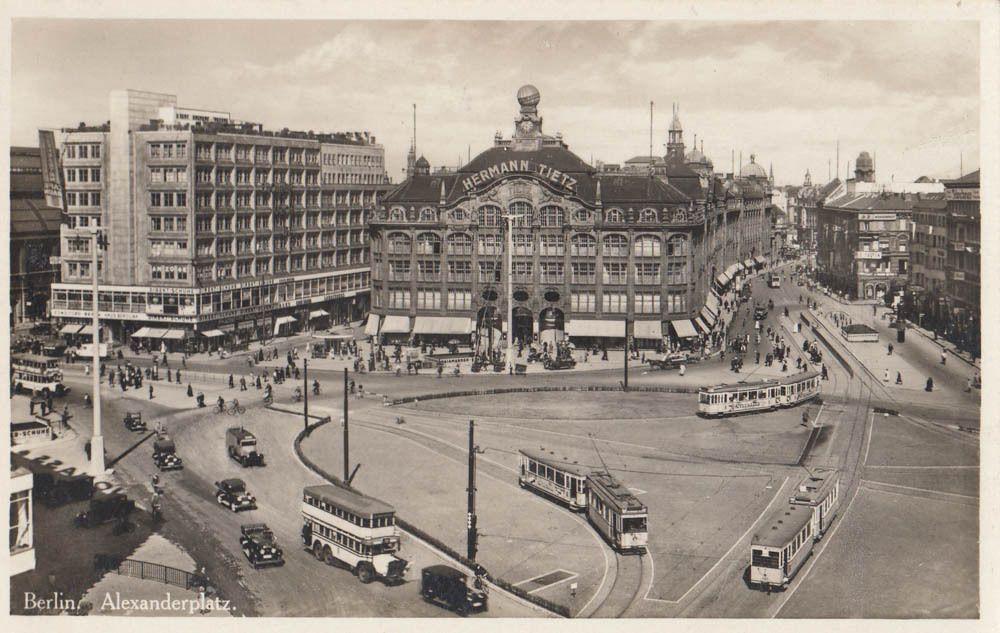 Warenhaus Kaufhaus Leonhard Tietz Alexanderplatz Berlin 1930 Berlin Geschichte Berlin Geschichte