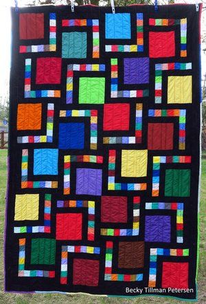 Big Block Quilt Pinterest Free Pattern Big Block Quilts And