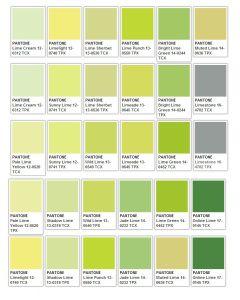 Greens Pantone Colour Palettes Pantone Color Chart Pantone Palette