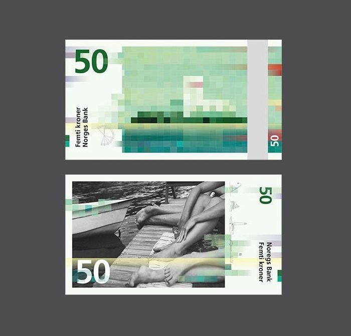 Norway S New Banknotes By Snohetta The Metric System Inspiration Grid Design Inspiration Disenos De Unas Logotipos