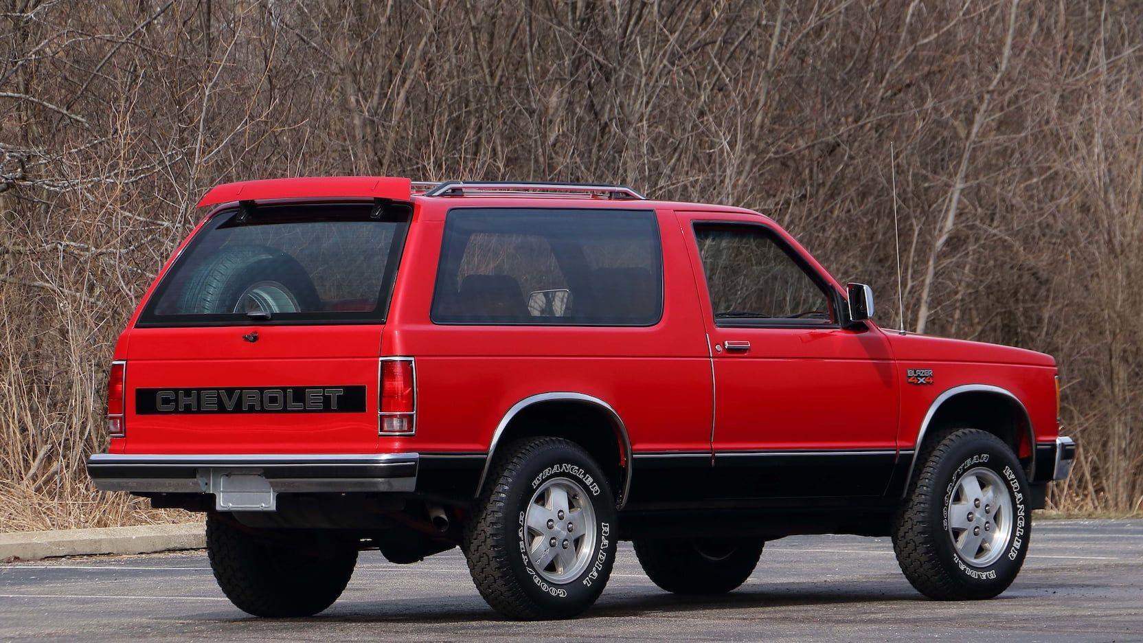 1987 Chevrolet S10 Blazer T173 Indy 2018 Chevrolet S10 Blazer Chevy S10