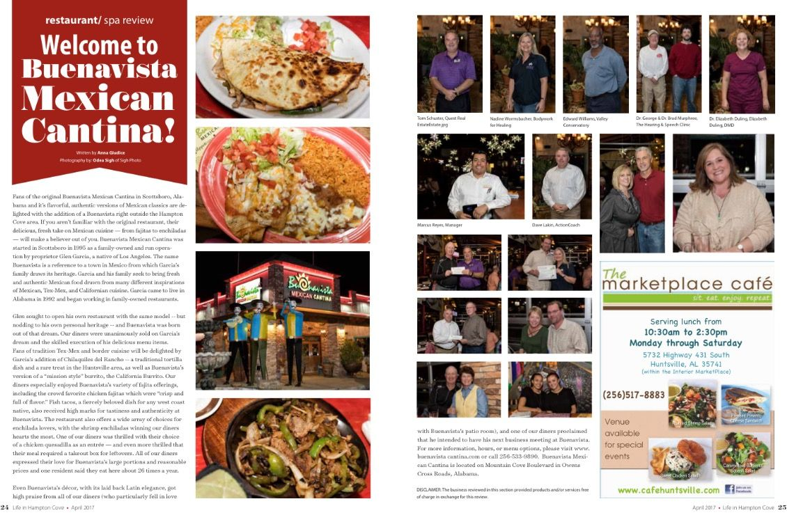 Hampton Cove Residents And Several Newsletter Sponsors Had Great Time At The Buenavista Mexican Cantina Restaurant Re Buenavista Restaurant Review The Hamptons