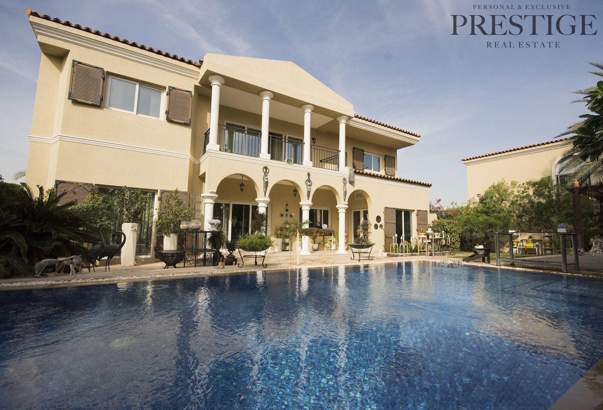 5 Bedrooms Villas for Rent in Green Community West To buy