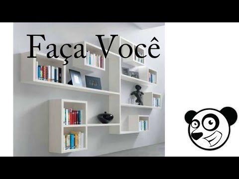 Diy - NICHO com Caixa de Sapato ! ❤ - YouTube | Quartos | Nichos e