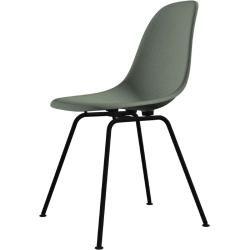 Photo of Eames Fiberglass Side Chair Dsx plastic glides VitraVitra