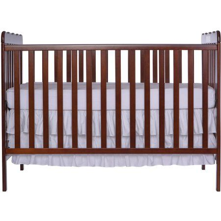 Dream On Me Classic 3 In 1 Convertible Crib White Walmart Com Cheap Baby Cribs Baby Cribs For Sale Convertible Crib White