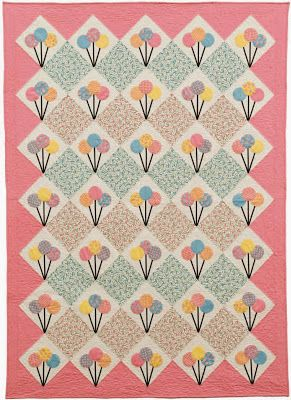 Quilt Inspiration: Free pattern day: Sweets ! Cupcakes, ice cream, & lollipop quilts