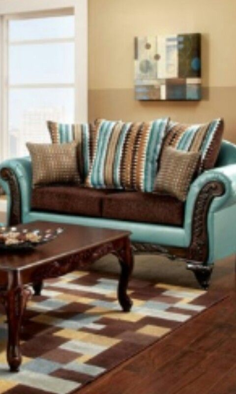 Love the teal and brown faves Pinterest Teal