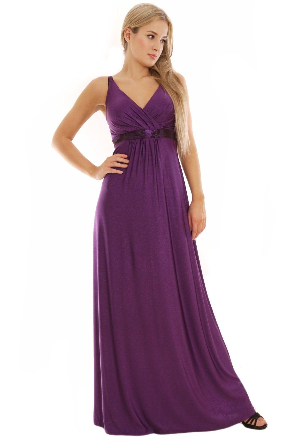 British design long evening summer party holiday maxi dress