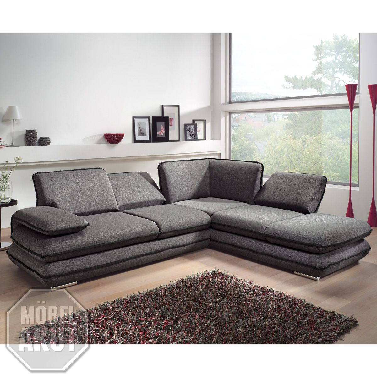 Couch U Form Grau 75 Genial Kollektion Von Sofa Grau Schwarz | Modern Couch, Couch, Home Decor