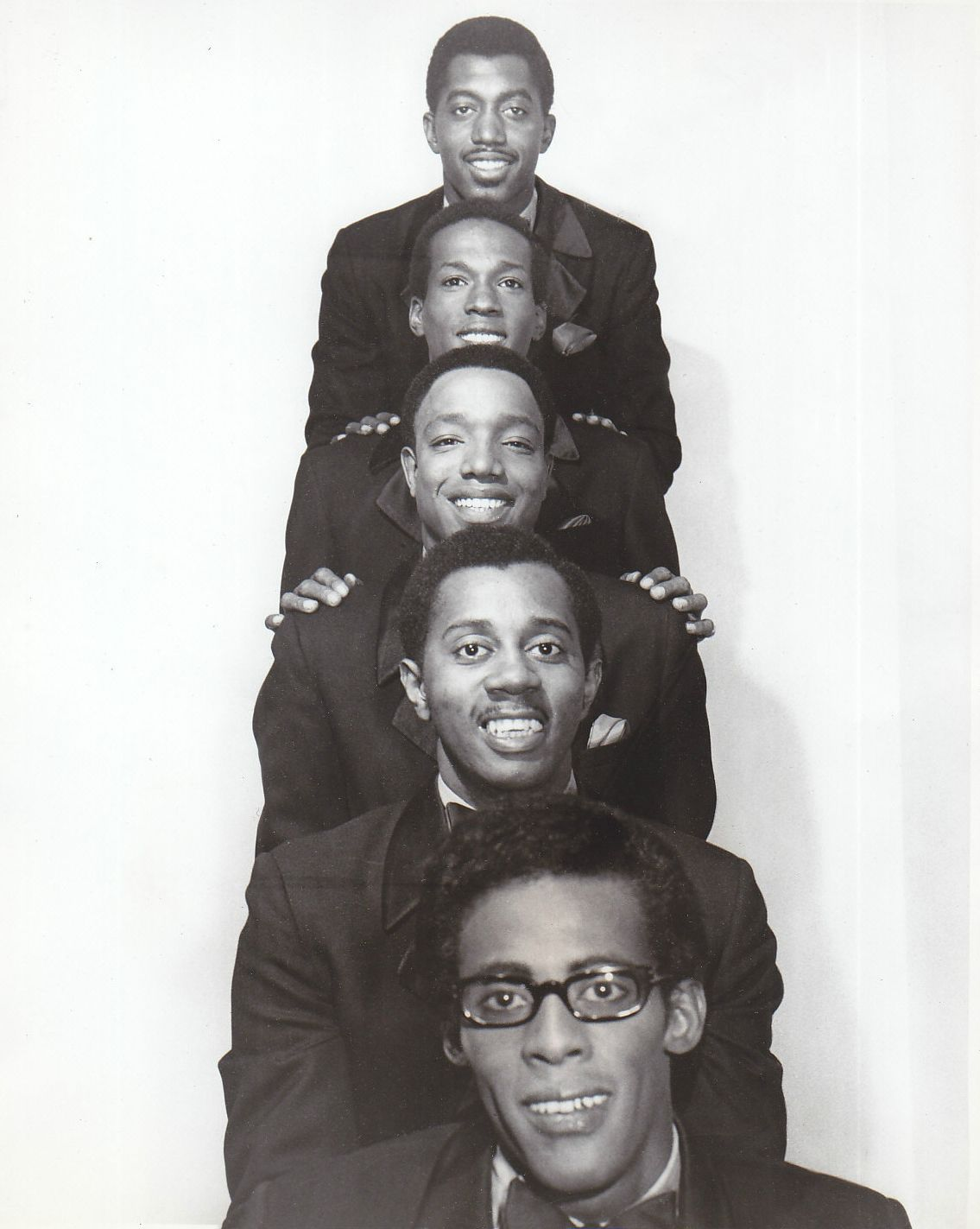 motown group the temptations 1970 with david and eddie gone