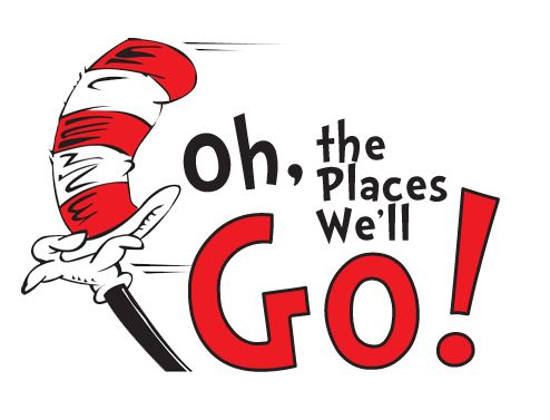Oh The Places Well Go Colouring Pages Clipart Free Clip