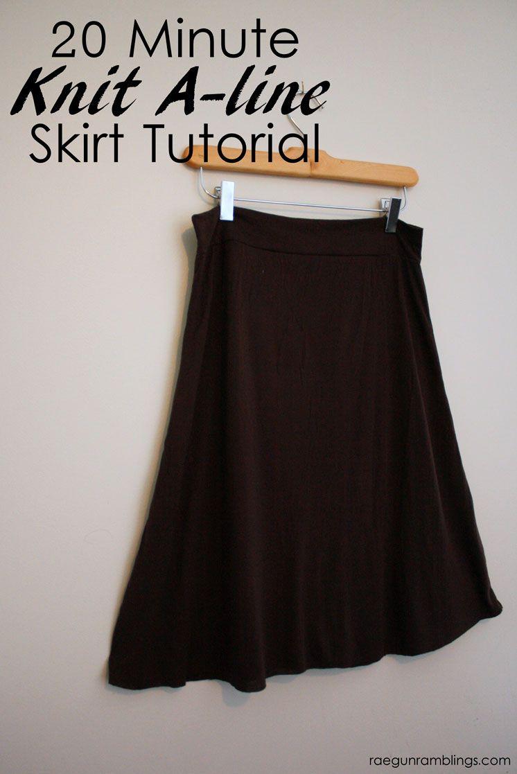 Hogwarts Textbooks Skirt and 20 Minute Knit A-line Skirt Tutorial ...