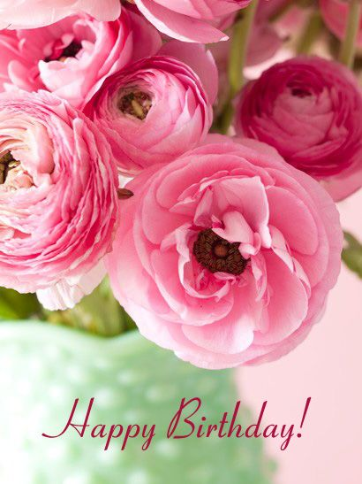 Greeting Cards For Women Birthday With Flowers