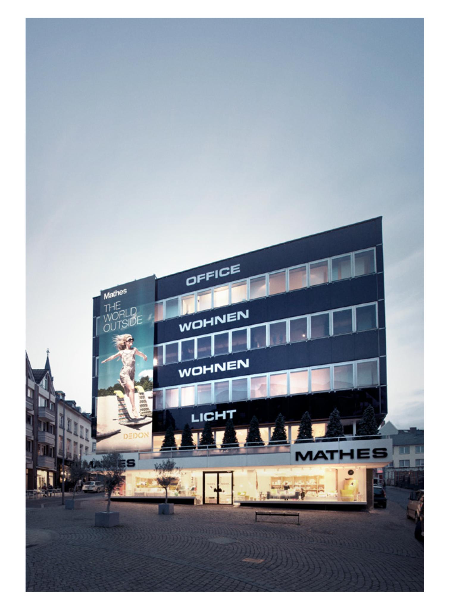 Mathes Buchel Aachen Einrichtungshaus Ausstellung Haus