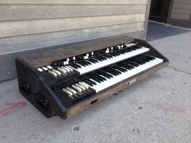 analog outfitters organic 261 2 manual midi controller hammond organ retrofit b3 midi synths. Black Bedroom Furniture Sets. Home Design Ideas