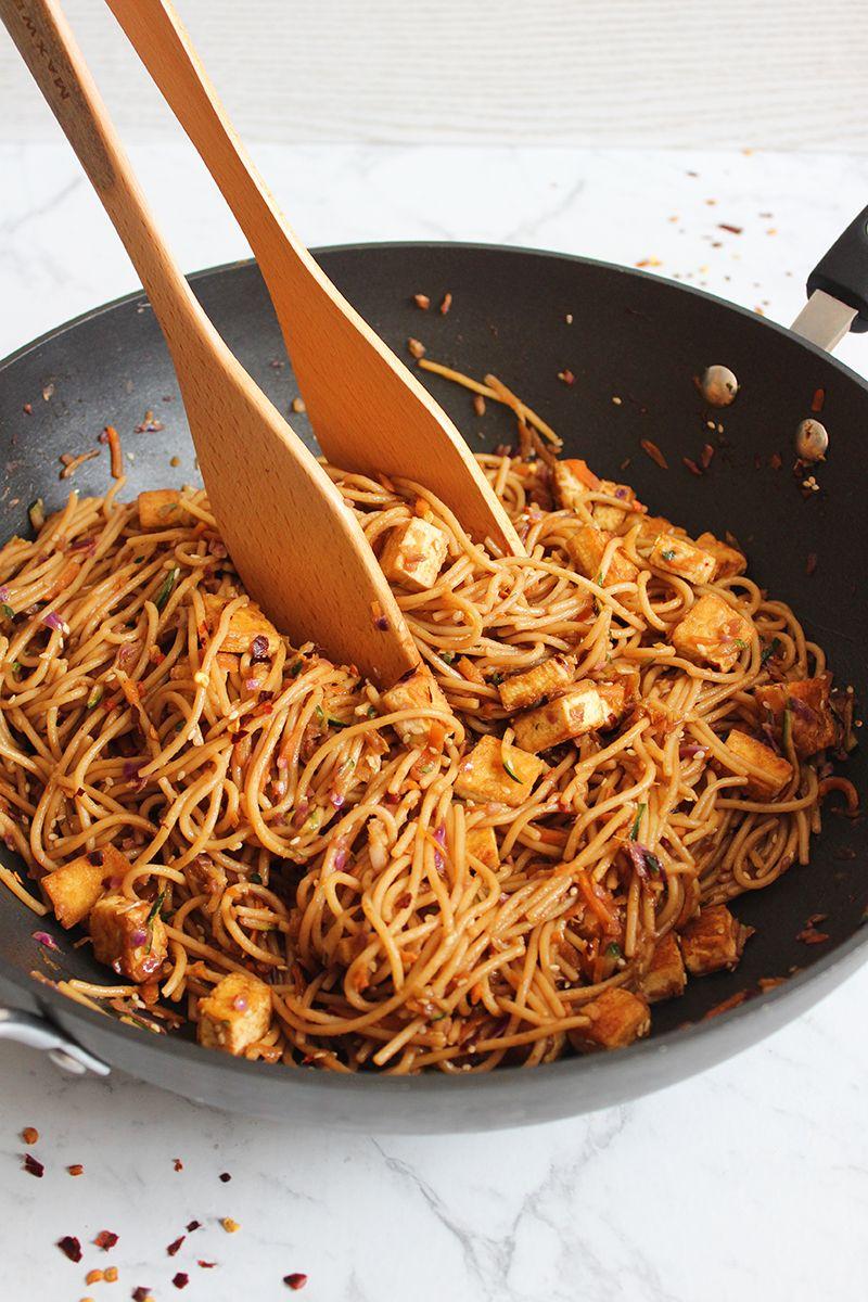 Tofu Thai Noodles images