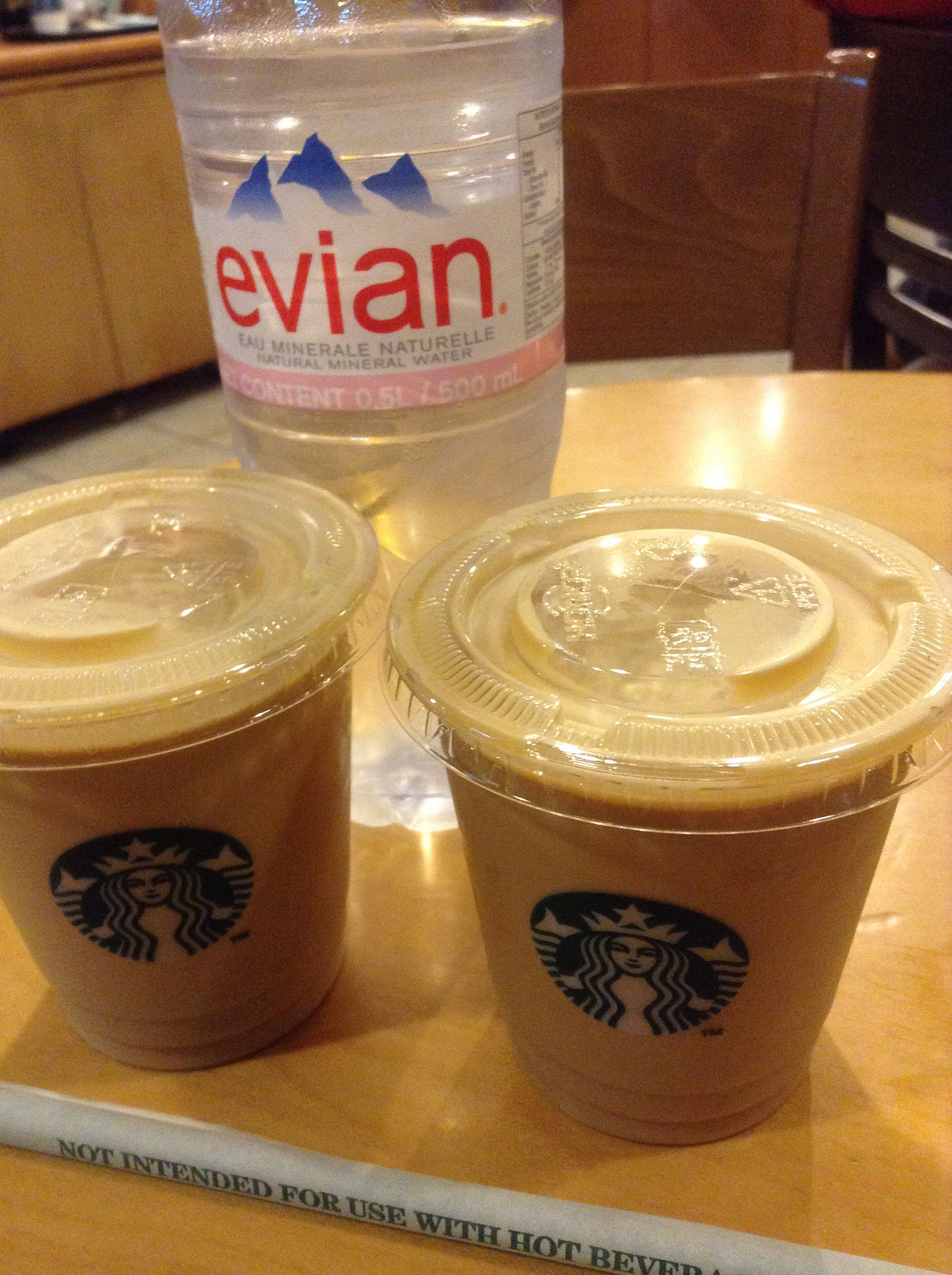 Double shot iced shaken espresso