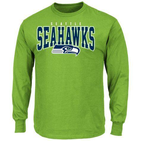 NFL Mens Seattle Seahawks Long Sleeve T-shirt  Shopko Size Medium (wear  under my Jersey I want.) d9e52338d