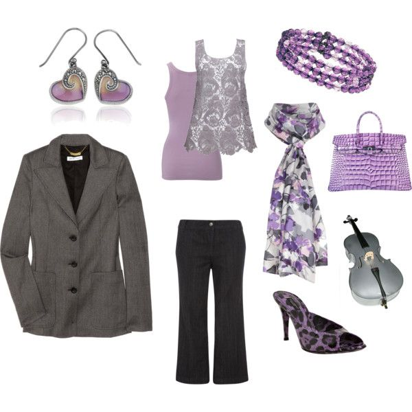 Lovely in Lilac, created by kpeck27.polyvore.com