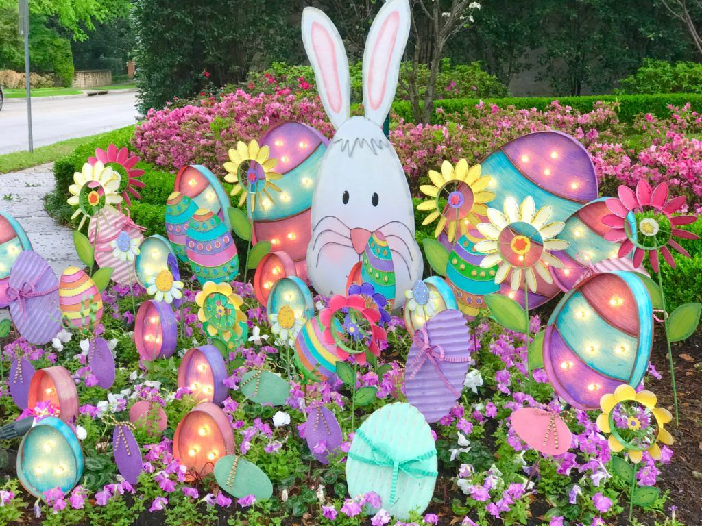 Come Check Out Turtle Creek Laneu0027s Outdoor Easter Decorations! We Had Ideas  For Your Flower