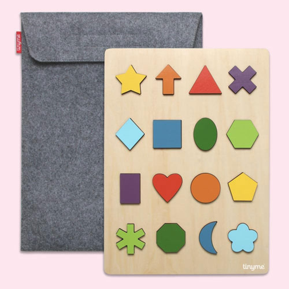 a0be95dc95873 Wooden Puzzle - Bohemian Shapes puzzle