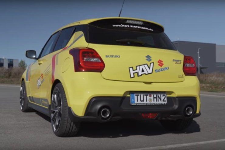 Video 2019 Suzuki Swift Sport 180 Ps Tuning Suzuki Swift