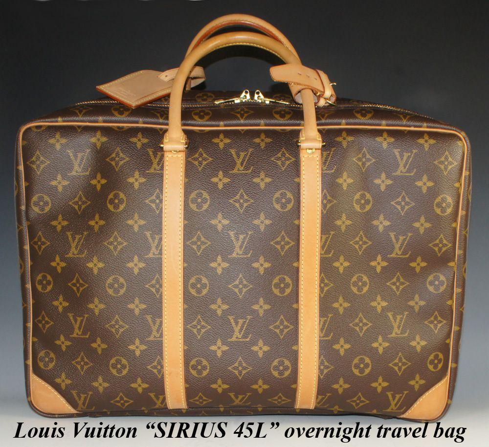 Superb & Lightly Used Vintage Louis Vuitton Sirius 45 L Weekend ...