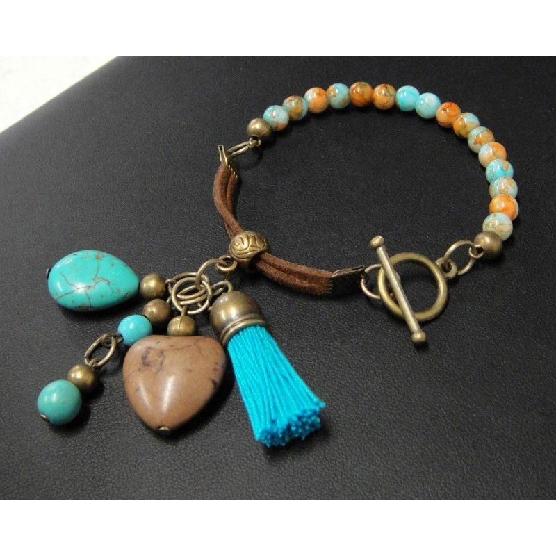 Piedras de collares de moda 2014 pulsera de moda con - Piedras para collares ...