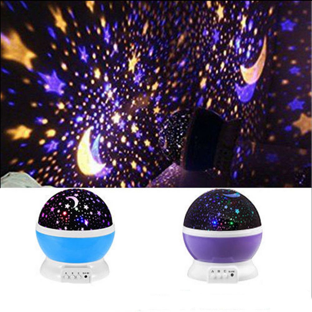 Projector Night Light Led Star Master Sky Lamp Romantic Cosmos Rotating Gift Home Garden Lamps Lighting Ceiling Fa Sky Lamp Led Night Light Star Master