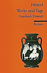 Werke und Tage. Hesiod,. Taschenbuch - Buch