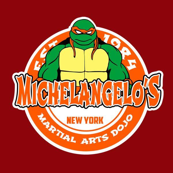 Turtle's martial arts dojo ( orange ) - NeatoShop