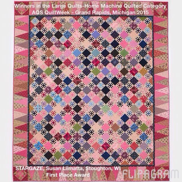 Flip through the winning quilts in the Large Quilts - Home Machine ... : machine quilting a large quilt - Adamdwight.com