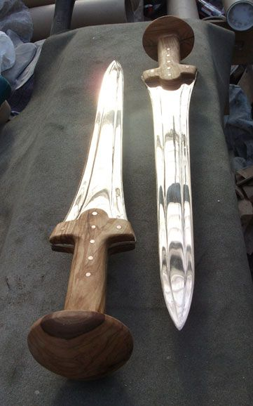 Bronze Age Swords (In My Workshop)