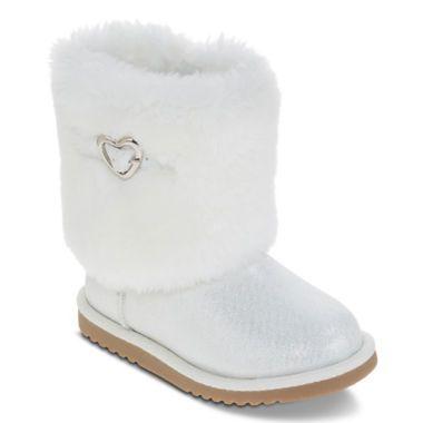 Arizona Eva Girls Faux-Fur Boots