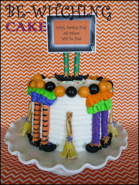 BE-WITCHING CAKE - Purple Chocolat Home