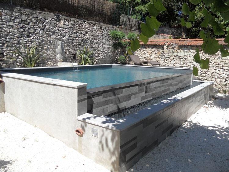 Une petite piscine à débordement Ideas for a pool Pinterest